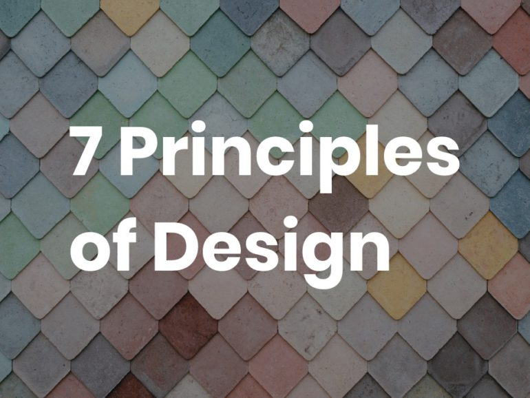 What are the Principles of Design? Why Is It Important to learn?