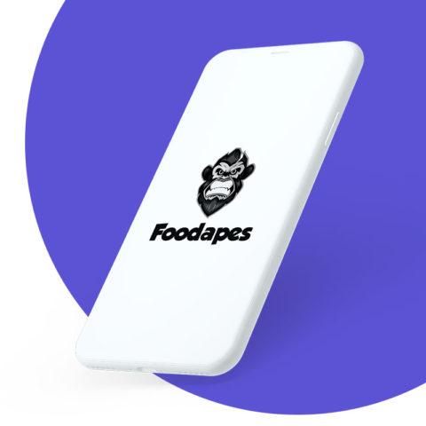 Foodapes App Design