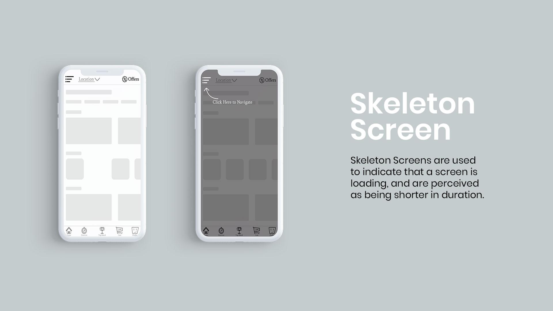 Foodapes-Skeleton-Screen