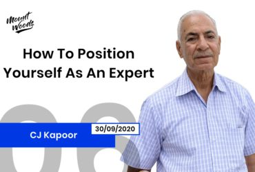 How To Position Yourself As An Expert | C J Kapoor | Ep. 06