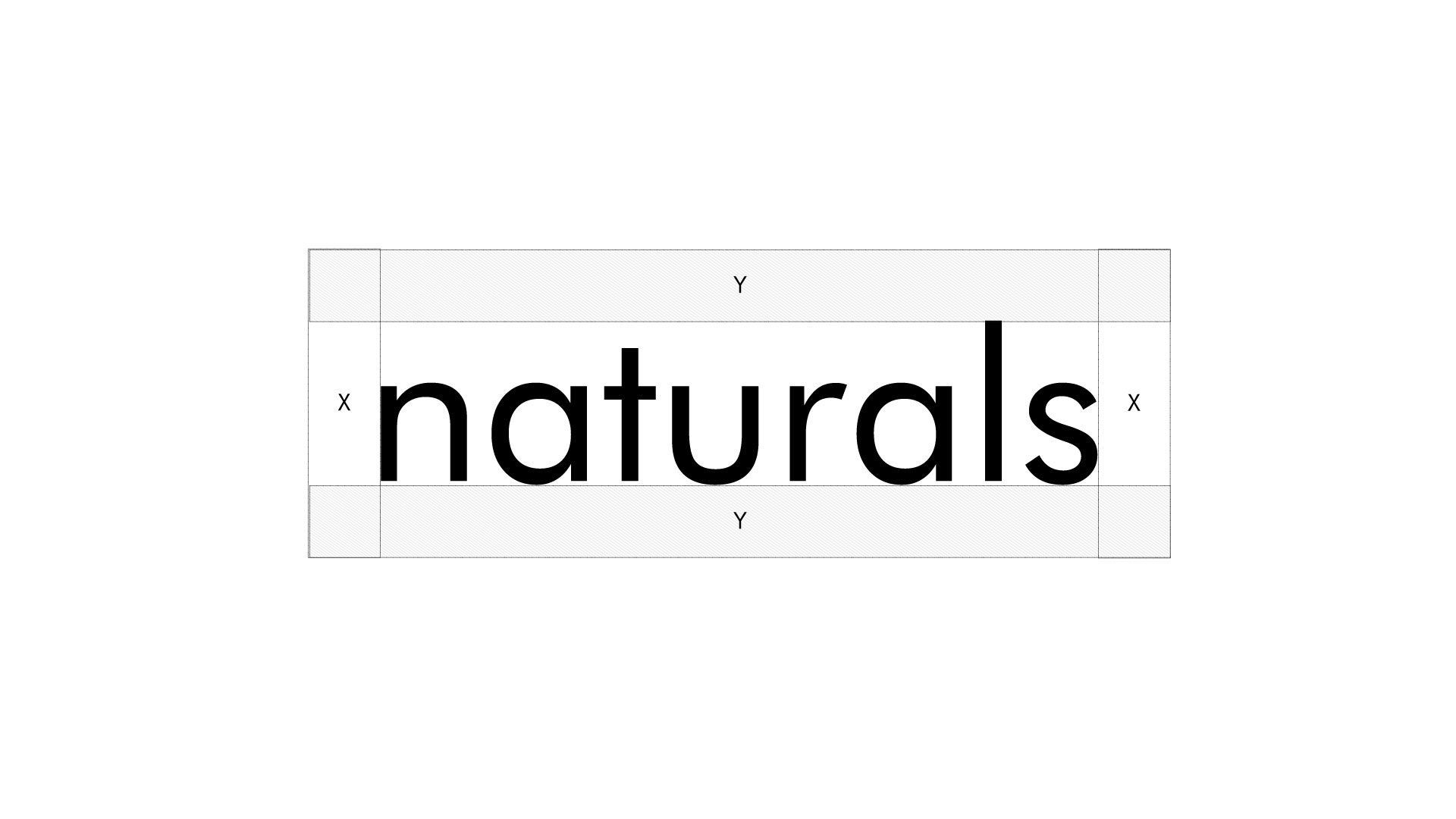 Naturals Soap Logo Guidelines