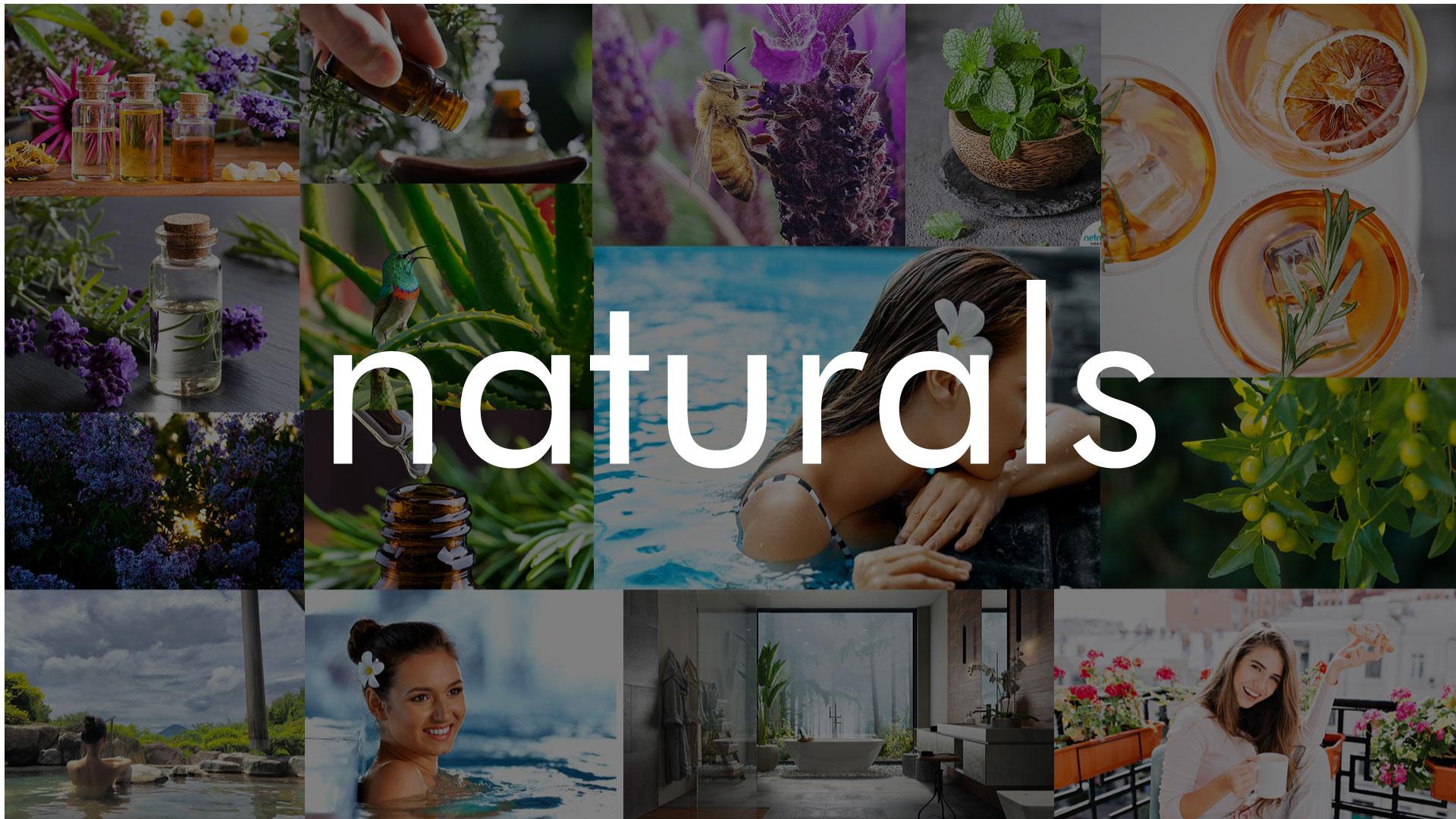 Naturals Soap Mood Board