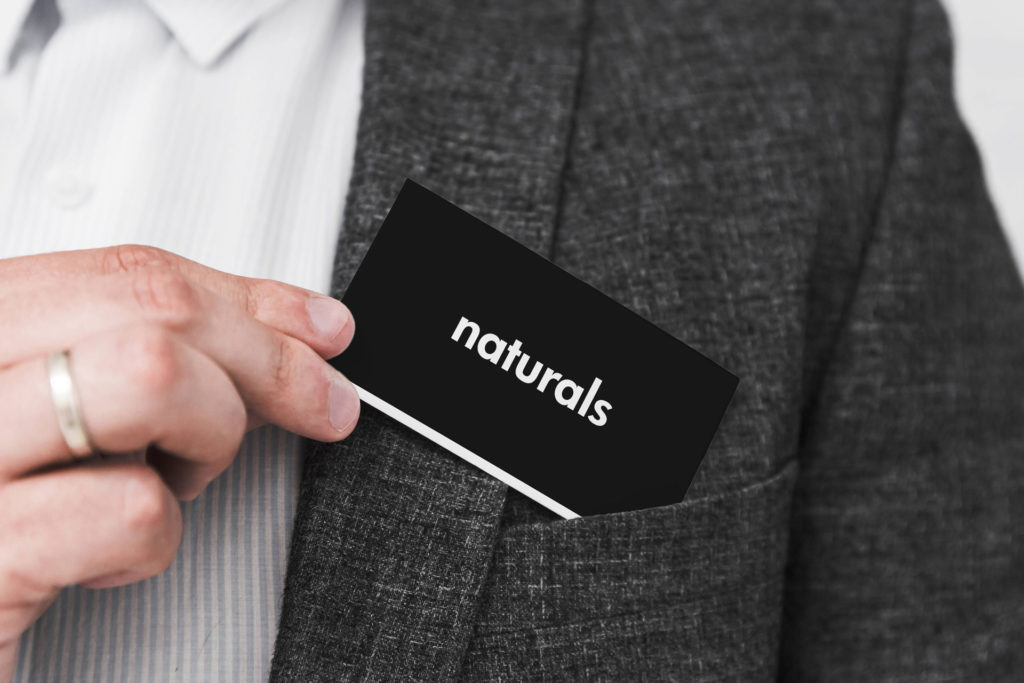 Naturals Soap Visiting Card