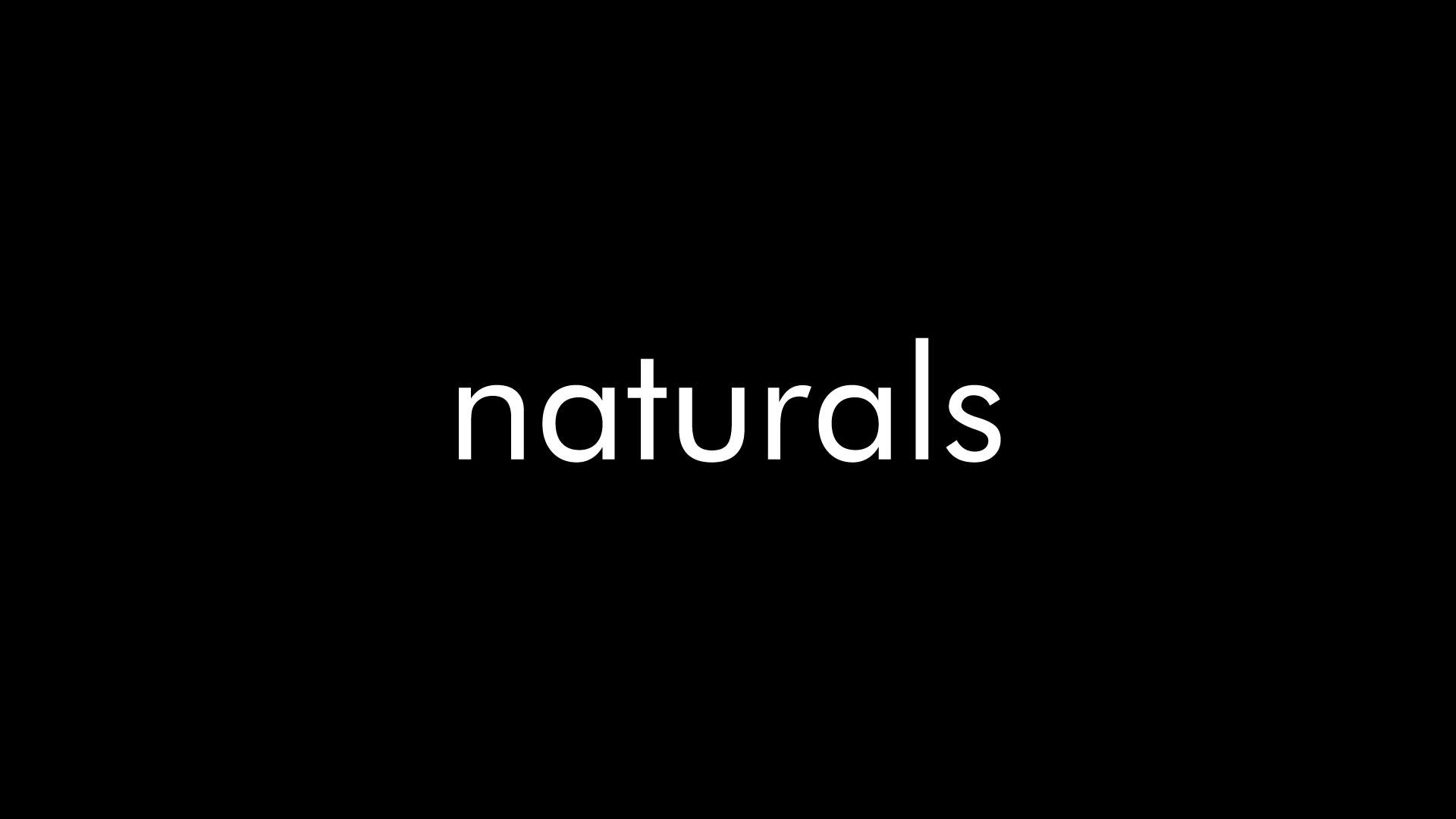Naturals Soap Black Logo