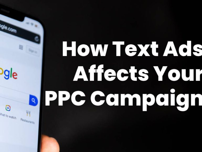 PPC AdWords Optimization: How Text Ads Affects Your Campaign
