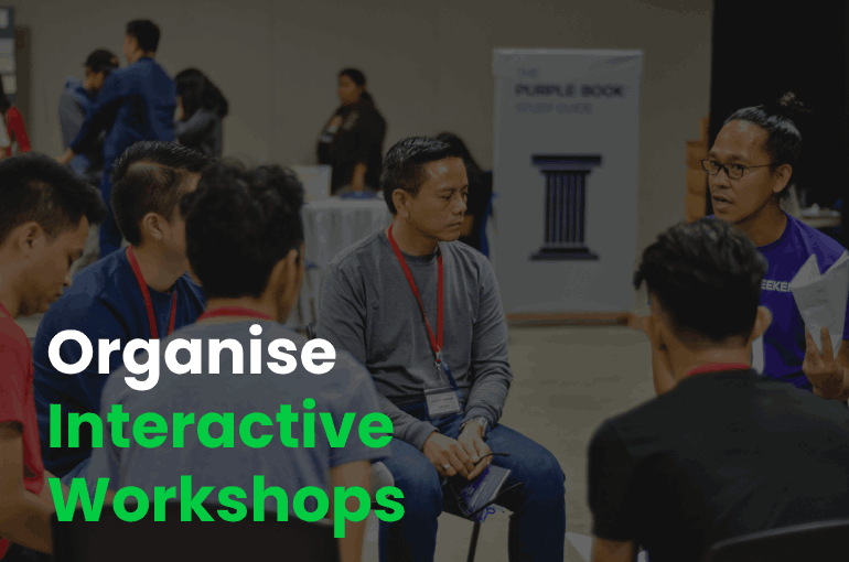 Organise Interactive Workshops