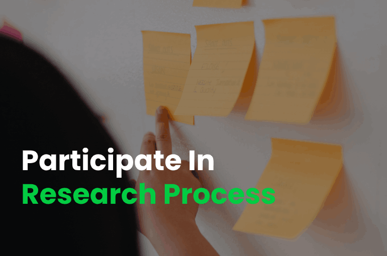 Participate In Research Process