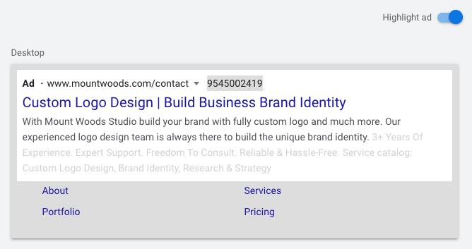 Google Responsive Ad-Desktop