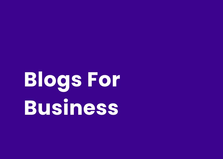 Blogs For Business