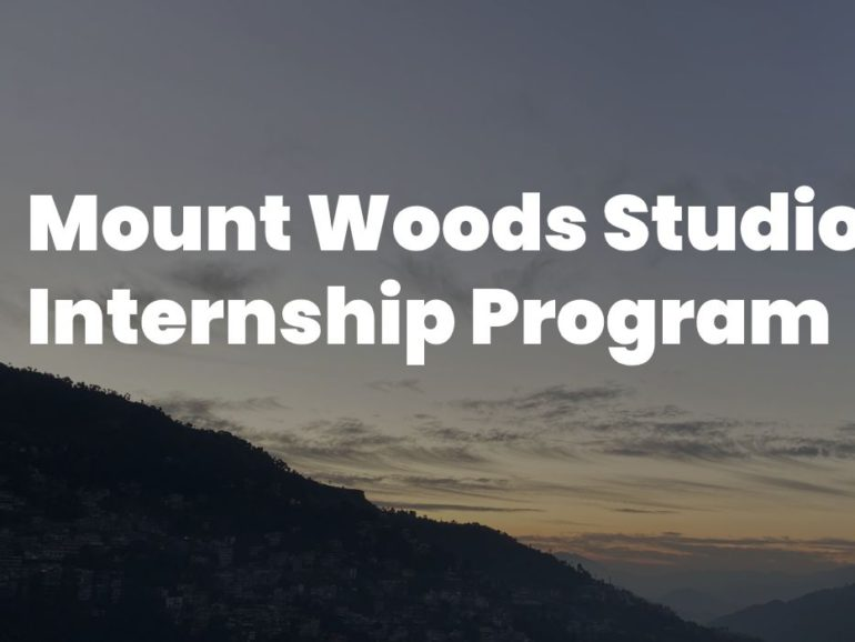 Mount Woods Studio Internship Program