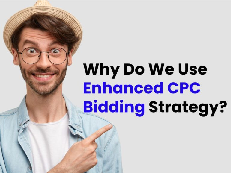 Why do Mount Woods use Enhanced CPC bidding on Campaigns?