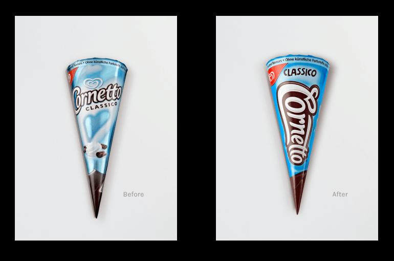 Cornetto-Branding